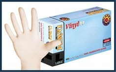 DASH Vinyl PF gloves are a non-latex and powder free solution for glove users who require exceptional . Nitrile Rubber, Male Doctor, Latex Gloves, Dental, It Works, Powder, Sensitivity, Safety, Free