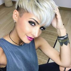 """2,651 Likes, 58 Comments - Short Hairstyles Pixie Cut (@nothingbutpixies) on Instagram: """"Lets,see some love for @jejojejo87 new color """""""