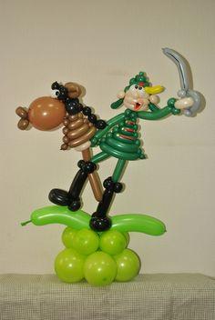 С саблей на лошади :)   #шары #шарыволгоград #воздушные шары #шарики…