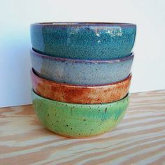 Pottery bowls LOVE