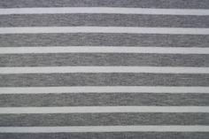 KN16 0432-970 Punta di Roma gestreept grijs/wit