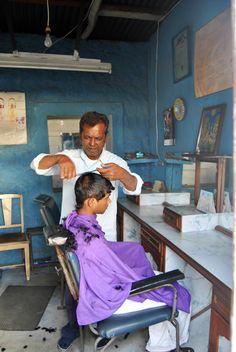 Hair cutting... Mauritian Style