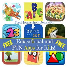 FREE Educational and FUN Apps for Kids!