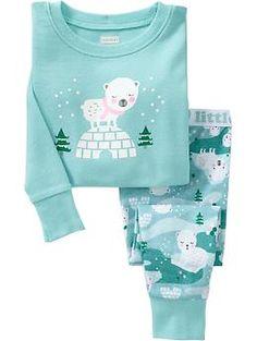 $11 Polar Bear PJ Sets for Baby | Old Navy