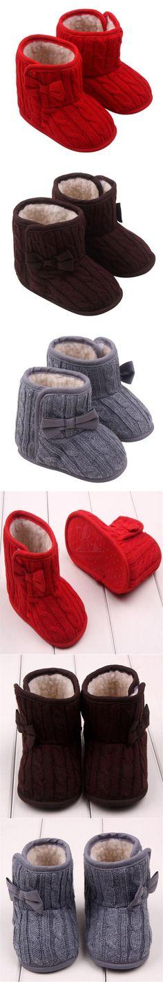 SIF 2016 Fashion Winter Warm Baby Shoes Boy Girl Boots Sapato Infantil Menino rosherun toddler girl shoes $3.52