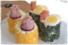 minismörgåstårta - Sök på Google Open Faced Sandwich, Sushi, Sandwiches, Cheesecake, Ethnic Recipes, Google, Desserts, Food, Projects