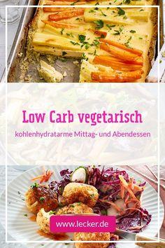 Low Carb geht auch vegetarisch! Wir präsentieren dir die besten kohlenhydratarmen, fleischfreien Rezepte und bringen so ordentlich Abwechslung auf deinen Low Carb-Speiseplan. #lowcarb #vegetarisch #lowcarbvegetarisch #rezepte #lecker #kochen #kohlenhydratarm #lowcarbrezepte #lowcarbabendessen #lowcarbmittagessen #veggie French Toast, Cooking, Breakfast, Food, Kitchen, Morning Coffee, Essen, Meals, Yemek