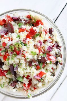 17. Cauliflower Rice Tabouleh #whole30 #recipes http://greatist.com/eat/whole30-recipes-for-lunch