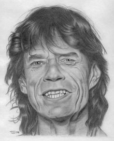 Mick Jagger by ChilliDemon, via Flickr