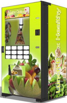 Healthy Vending Machines / Fresh Food and Deli Vending Machines | Factory Direct Prices ! | Worldwide Fresh Food Vending Machine Delivery From BMI Gaming