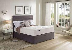 Geltex Supreme 1400 Half Ottoman Bed, Sale £1299