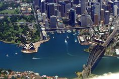 Via Four Seasons Hotel Sydney Types Of Photography, Aerial Photography, Travel Around The World, Around The Worlds, Four Seasons Hotel, Sydney Australia, Great View, River