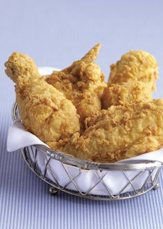 Celebrate Greasy Food Day with some finger lickin'  southern fried chicken!