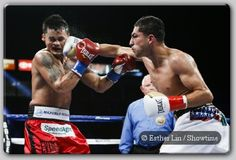 """Maidana Outslugs Lopez In Thriller, Lara, Charlo Victorious - In a Fight of The Year candidate Marcos """"El Chino"""" Maidana (34-3, 31 KO's), of Margarita, Argentina, capped a spectacular night of fights with a sixth-round technical knockout win over """"The Riverside Rocky'' Josesito Lopez (30-6, 18 KO's) of Riverside, Calif., before a loud and...- http://www.saddoboxing.com/40621-marcos-maidana-josesito-lopez.html"""