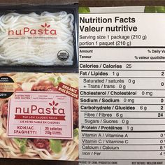 """22 Likes, 10 Comments - Charis & Ashley Whittington (@ashley_charis) on Instagram: """"New low carb pasta! In the whole package is 6g of carbs! #lowcarb #nupasta"""""""