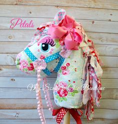 Hobby Horse Toy horse Stick horse by MySouthernChic on Etsy