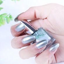 10 ML 5 Kleuren Metallic Spiegel Effect UV Gel Professionele Nagellak Vernissen…