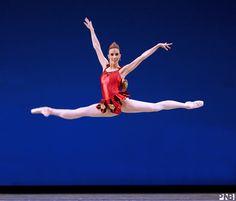 Lindsi Dec in George Balanchine's Rubies. Photo © Angela Sterling