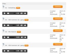 We added #subscription with #Paypal payent for #downloading #MP3's on the #Joomla site http://www.flightclinic.com/lydbok/levels.html?utm_content=buffer0c1de&utm_medium=social&utm_source=pinterest.com&utm_campaign=buffer.