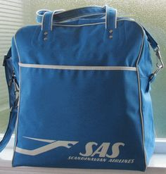sas vintage flight bag