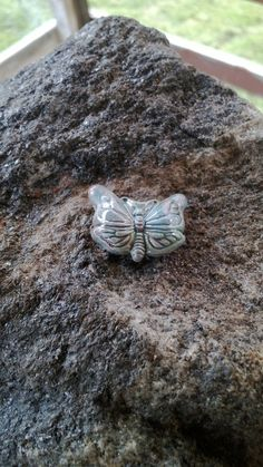 Raku Butterfly Bead Angel Assistance Spell http://www.bonanza.com/listings/Call-On-Your-Guardian-Angels-Raku-Butterfly-Bead-Spell-For-Angel-Assistance-Spel/110393483