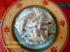 #Pasta #salsiccia e #ricotta. Pasta salsicce e ricotta , per questa ricetta potete usare la pasta che preferite io ad esempio ho usato gli strascinati.......