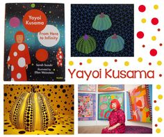 I am in love with this new children's book about Yayoi Kusama. The illustrations are gorgeous. I love Yayoi's style and her artwork. Known for her polka dot installations, polka dot … Yayoi Kusama, Art Lessons For Kids, Art For Kids, Elementary Art Lesson Plans, Art Doodle, Polka Dot Art, 2nd Grade Art, Ecole Art, Art Curriculum