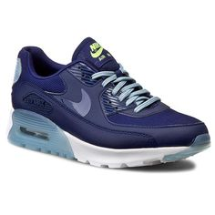 Buty NIKE - W Air Max 90 Ultra Essential 724981 402 Lyl Bl/Lyl Bl/Bl Gry/Brght Crm Air Max 90, Nike Air Max, Air Max Sneakers, Sneakers Nike, Shoes, Nike Tennis, Zapatos, Shoes Outlet, Shoe