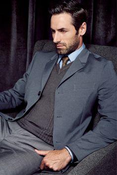 Josh Wald. Bespoke. Men's Suit