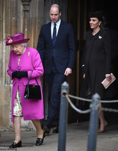 An Easter surprise this morning as the Duke and Duchess of Cambridge joined the Queen at St George's Chapel, Windsor Castle this morning. ...