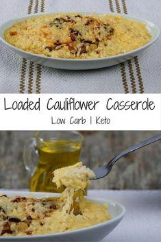 Low Carb Loaded Cauliflower