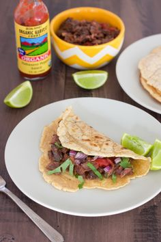 Paleo Beef Cheek Tacos with Paleo Tortillas - Rubies & Radishes