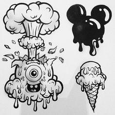 Solo Arte, solo expresión Tattoo - Graffitti - Ilustración