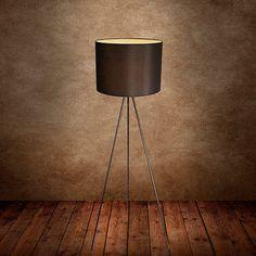 Elegante Stehleuchte Stehlampe Lampe Wohnzimmer Leuchte Standleuchte Schwarz E27