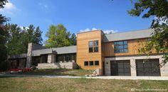 Modern Marvel - modern - exterior - indianapolis - STEVE GRAY RENOVATIONS INC