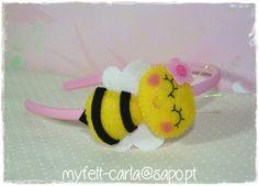 enfeite de feltro com abelhas - Pesquisa Google