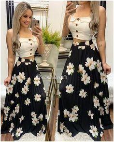 15 Looks con las Faldas Estampadas de Moda - Ourworld Tutorial and Ideas Lila Outfits, Skirt Outfits, Classy Outfits, Trendy Outfits, Dress Skirt, Cute Dresses, Beautiful Dresses, Casual Dresses, Fashion Dresses