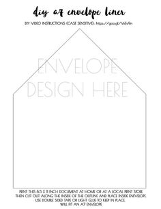 Add something extra special to your invitations with these watercolor DIY envelope liner. Simply print at home, cut, and add to your invitations with tape or glue. DIY instructions video: https://www.theknot.com/content/diy-envelope-liner    /// INSTRUCTIONS TO DOWNLOAD ///  This listing is for a printable digital file. No printed item will be shipped. After purchasing, you will be taken to the downloads page where you can download the liner w...