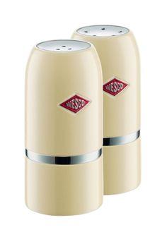 Wesco Salt & Pepper Shaker Set - Almond