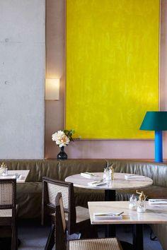 Granger and Co, Kings Cross London Public Restaurant, Restaurant Design, Restaurant Bar, Asian Restaurants, Paris Restaurants, Interior Architecture, Interior And Exterior, Interior Design, Granger And Co