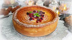 recette tarte au fromage blanc légère et délicieuse, tarte alsacienne Kä... Tiramisu, Camembert Cheese, Cheesecake, Pudding, Grands Parents, Ethnic Recipes, Food, Ramadan, Facebook