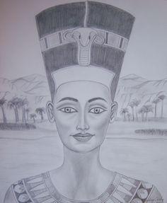 """Nefertiti"" by Audrey C."