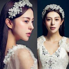 Bridal Wedding Pearl Crystal Rhinestone Headband Party Tiara Hair Accessories #Unbranded