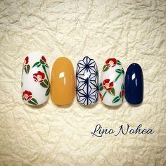 Shiny Nails, New Year's Nails, Gel Nails, Colorful Nail Designs, Cool Nail Designs, Japan Nail, New Years Nail Art, Nail Art Techniques, School Nails