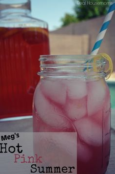 Meg's Hot Pink Summer | Real Housemoms | This is perfect for a summer party!!!