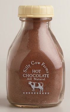 Silly Cow Farms chocolate truffle cocoa  http://rstyle.me/n/skpeepdpe