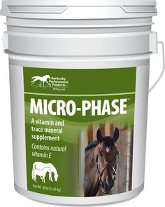 Micro-phase Vitamin & Mineral Supplement For Horse