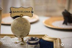 Globe wedding table names