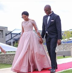 African Wedding Dress, African Weddings, African Traditional Dresses, Traditional Outfits, African Fashion Dresses, African Dress, Pink Bridesmaid Dresses, Bridesmaids, Wedding Attire