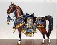 Peter Stone Model Arabian Horse Native Costume